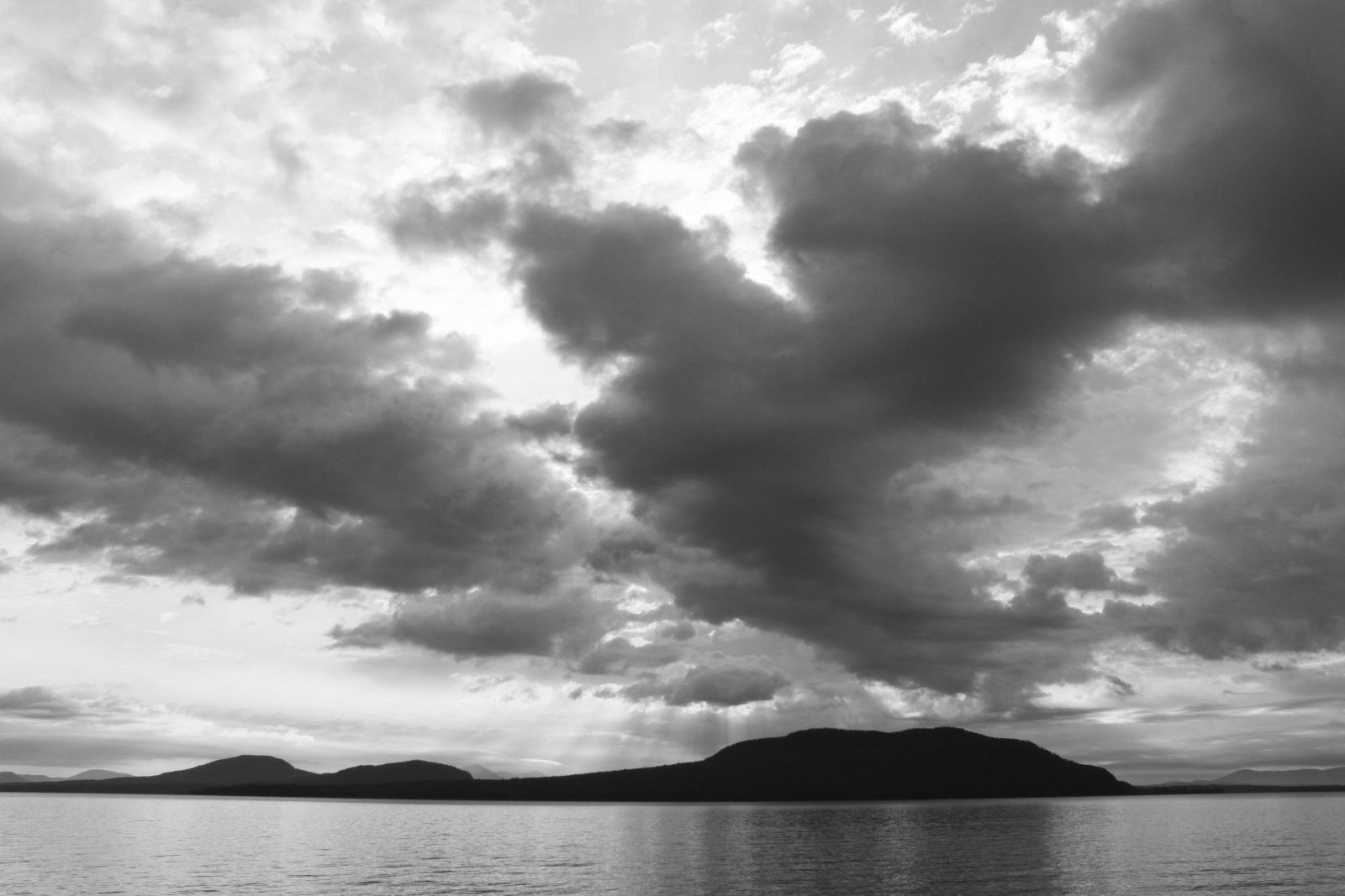 Clouds Over Moosehead