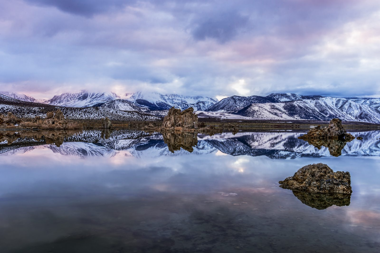 Winter Mono Lake