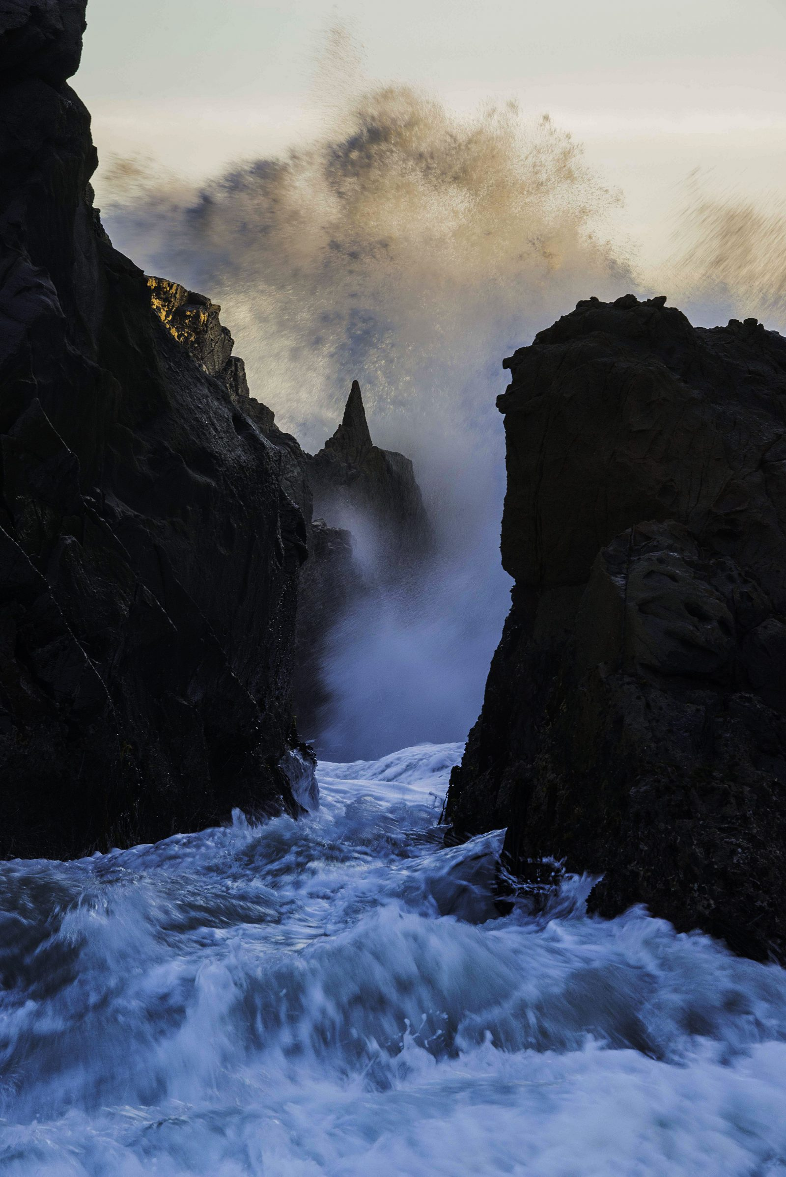 Wave Action at Pfeiffer Beach