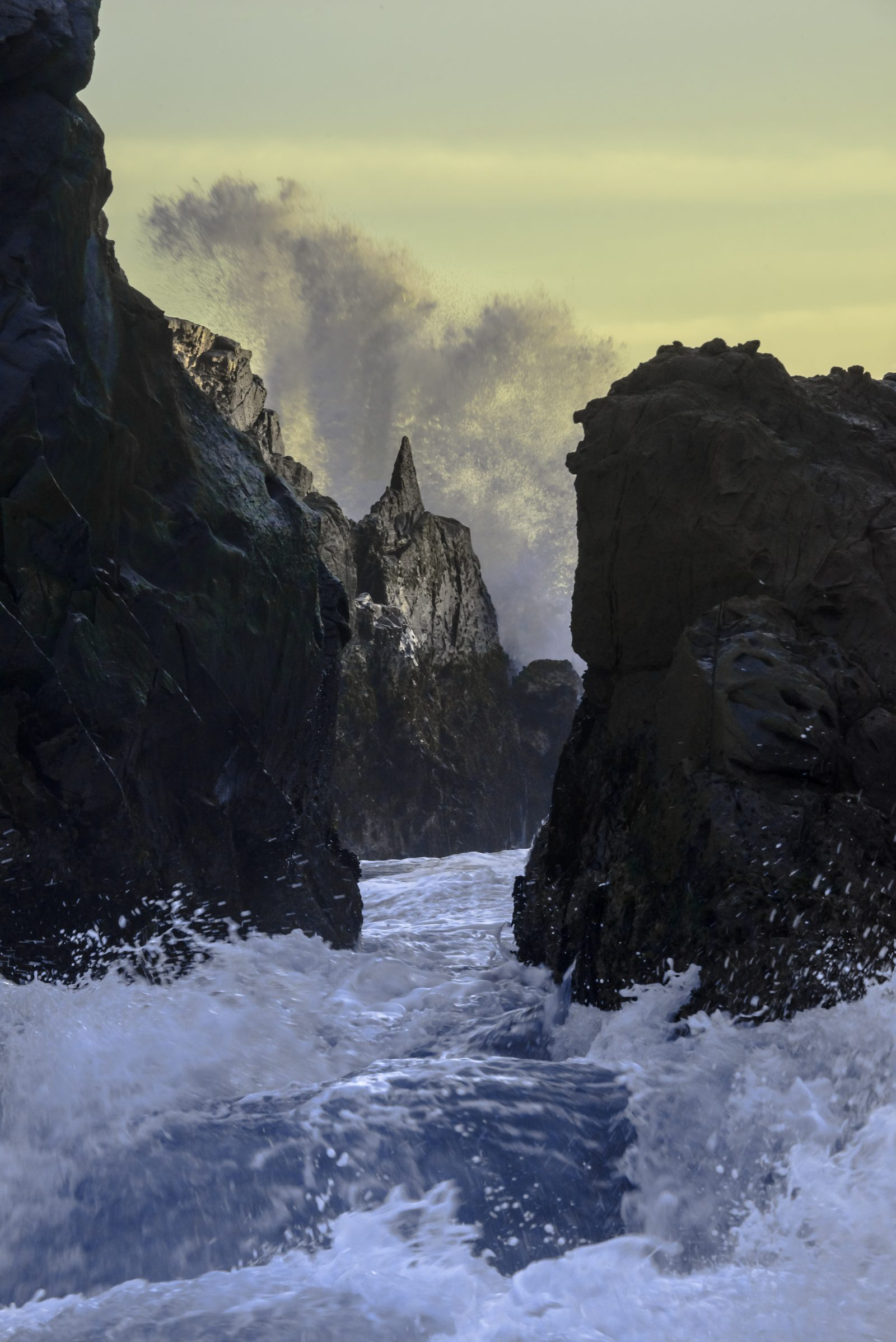 Wave Action at Pfeiffer Beach (2)