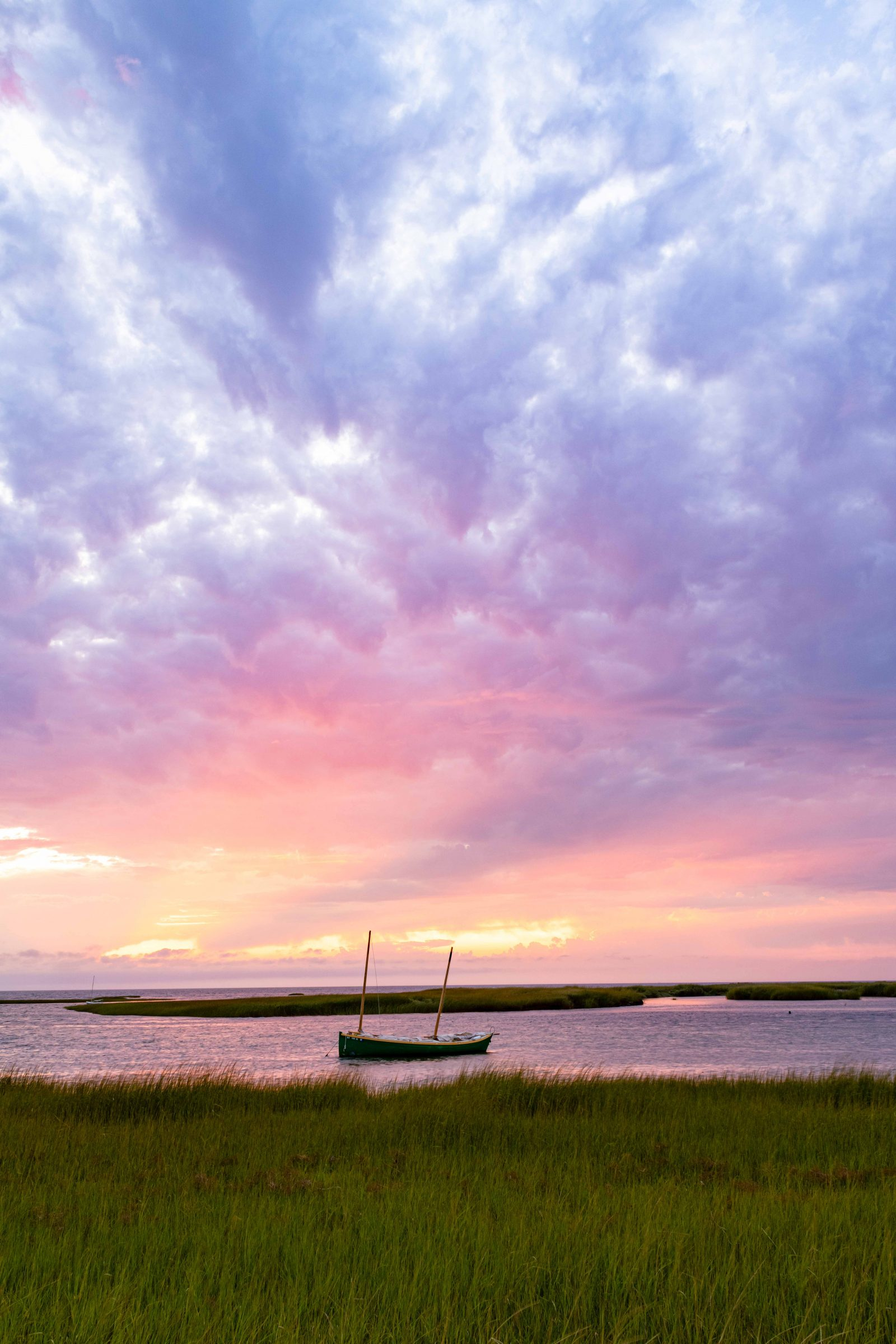 Boat Meadow Sunset
