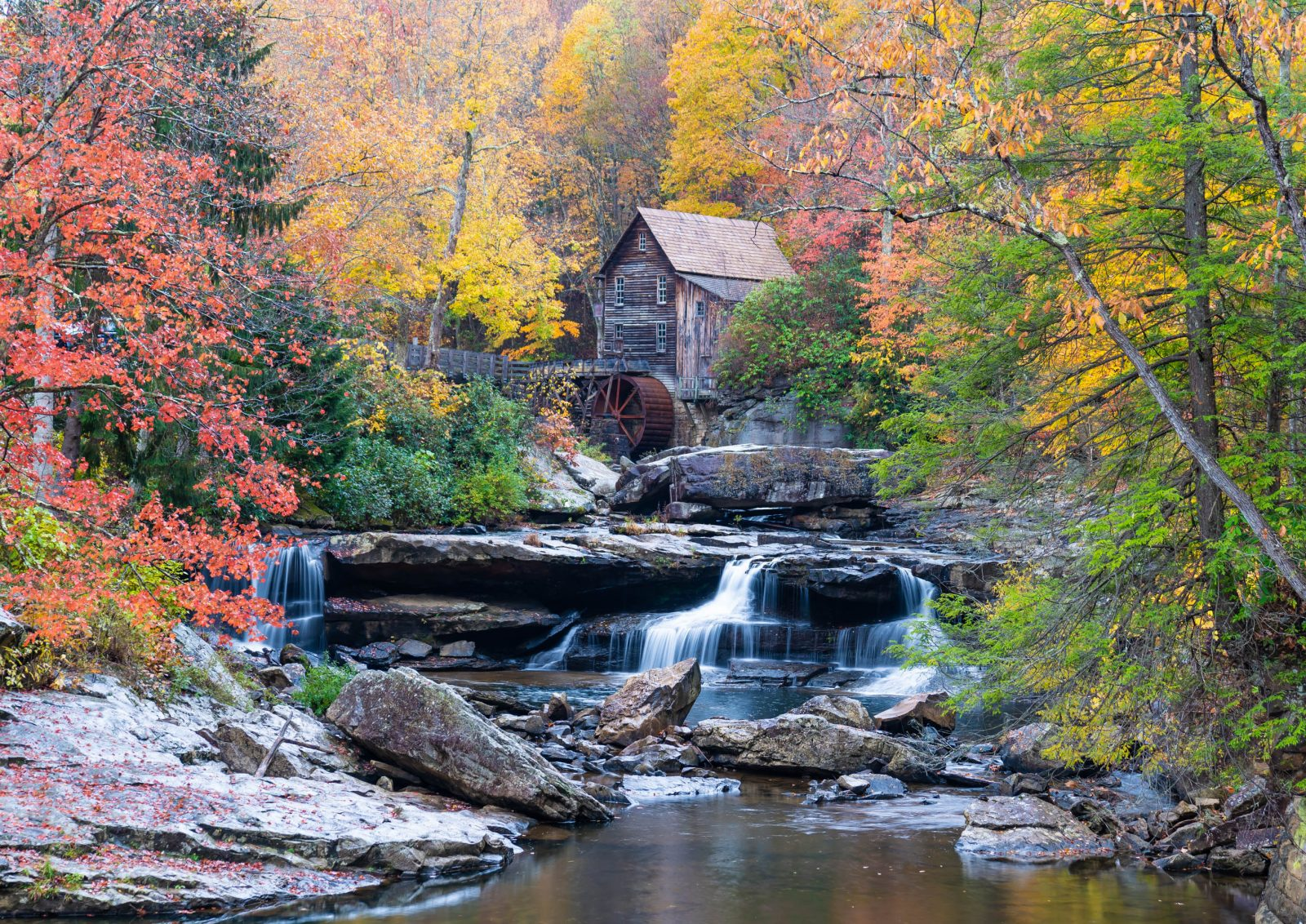 Glade Grist Mill – Babcock State Park, WV
