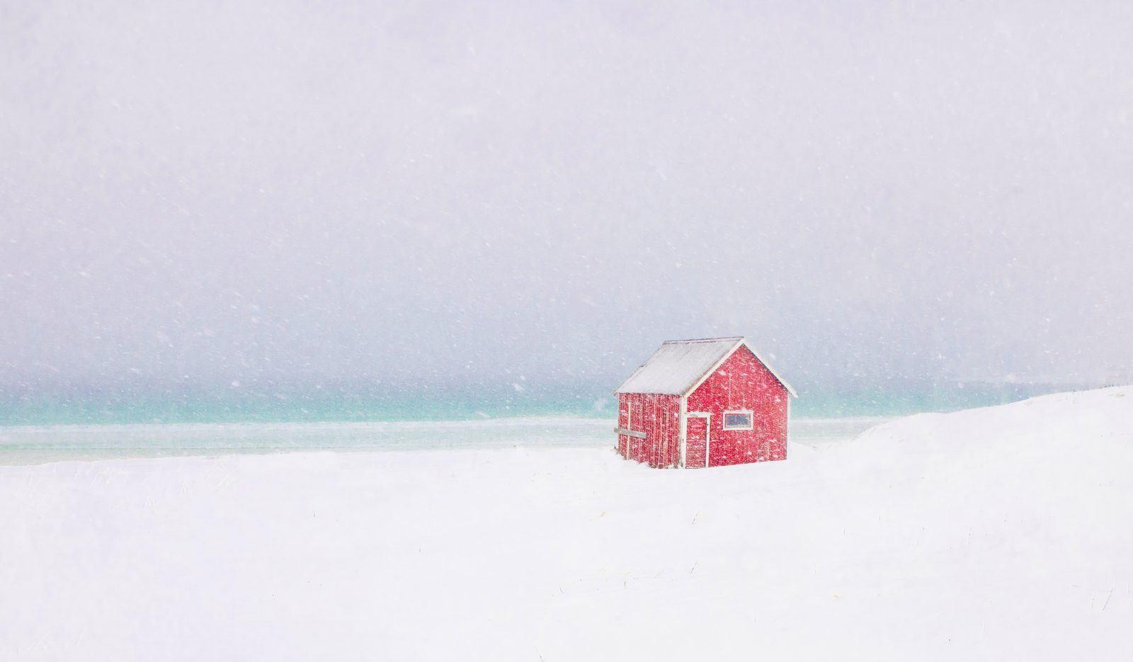 Little Red Cottage on the Beach