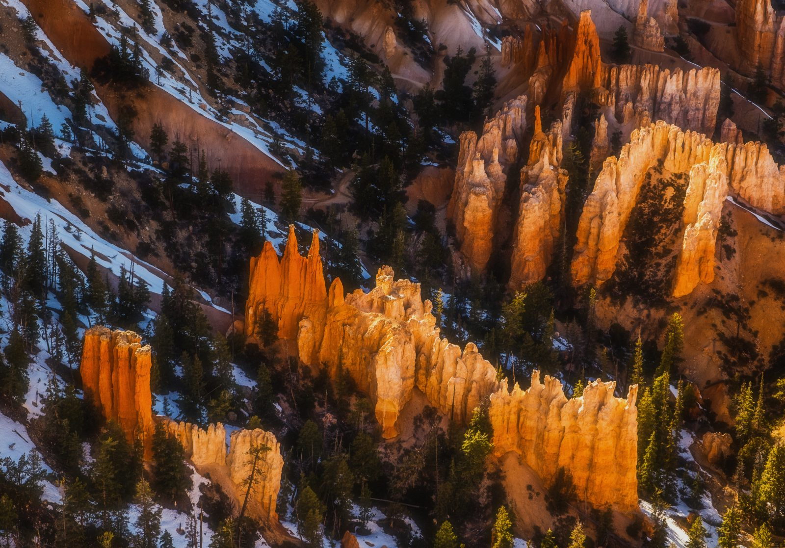 The Glowing Hoodoos