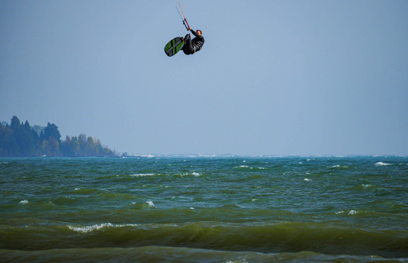 Kite Surfing in the Air