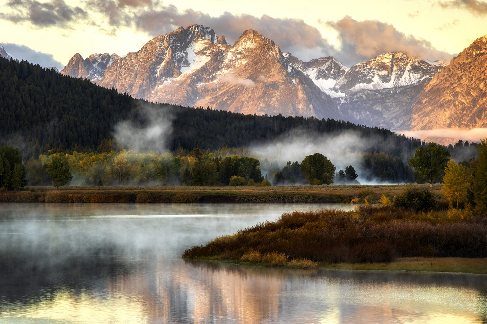 Oxbow Bend Morning 2019