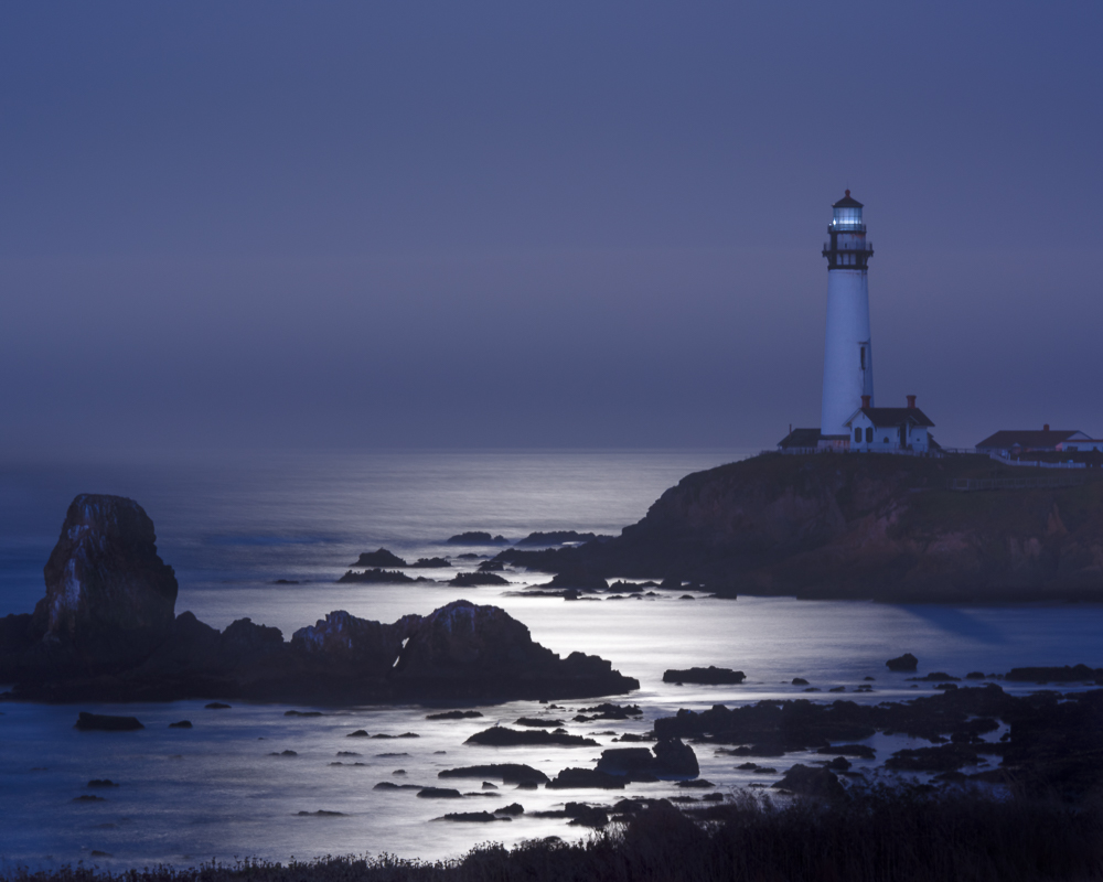 Moonlight at the Lighthouse