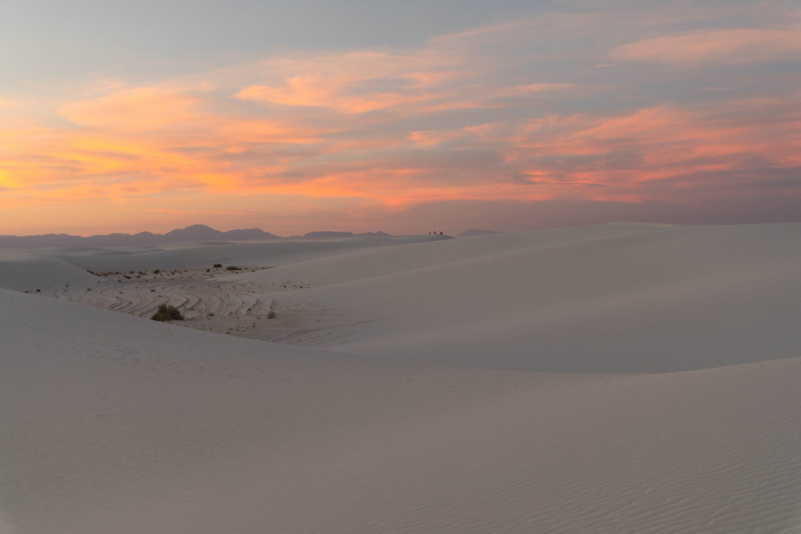 White Sands at Sunset