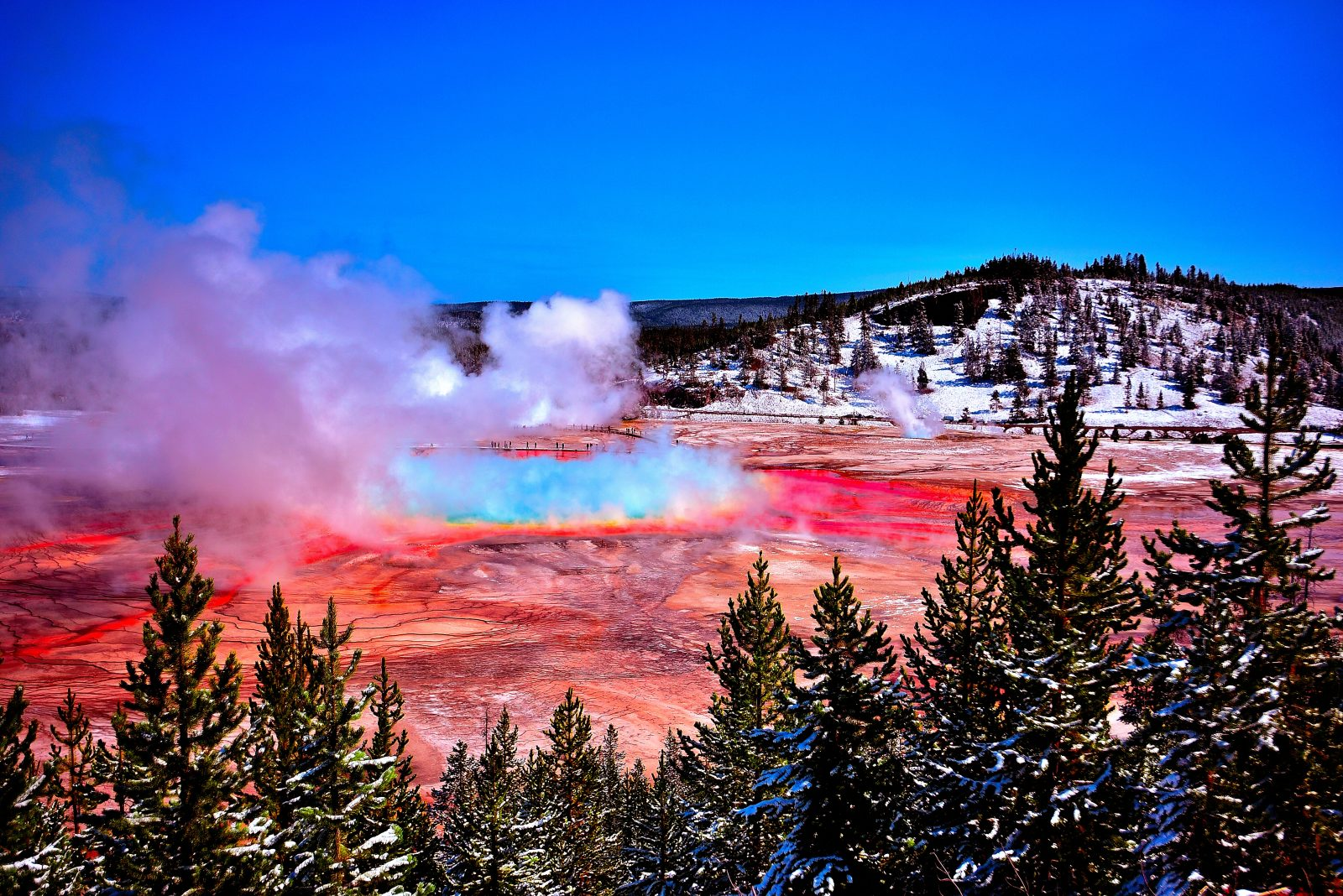 Grand Prismatic Yellowstone National Park