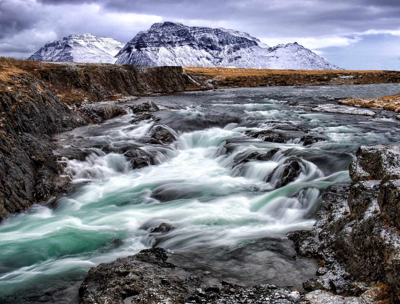 Glacial River of Iceland
