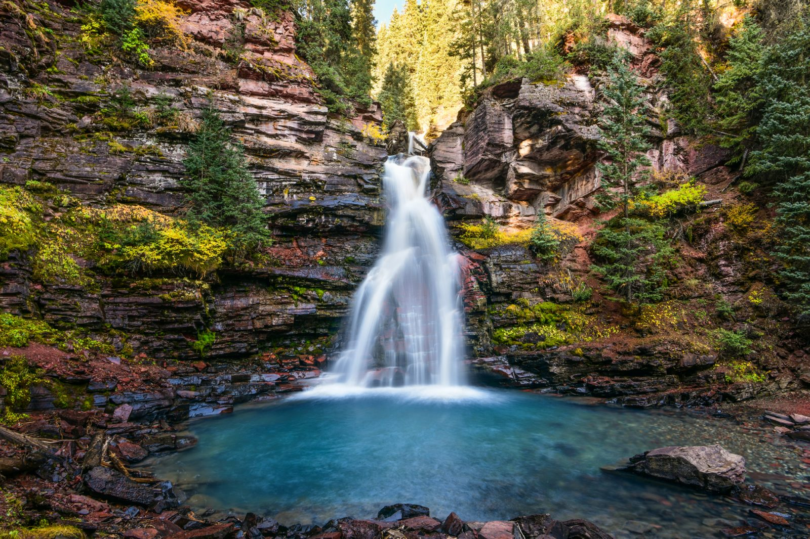 South Mineral Falls