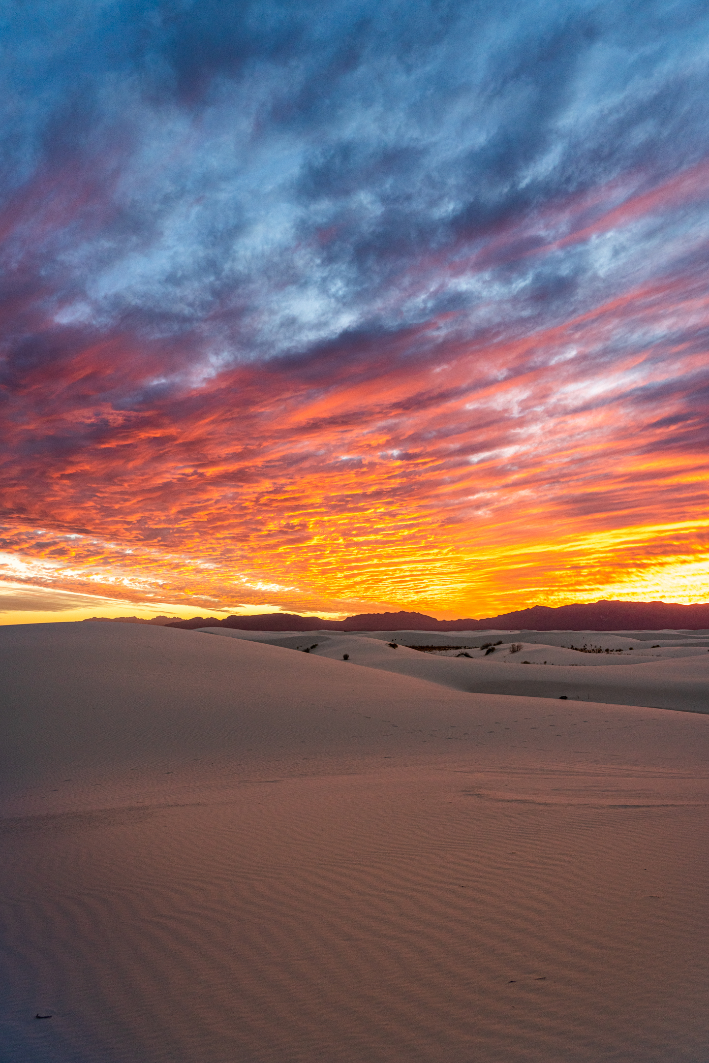 White Sands Fire