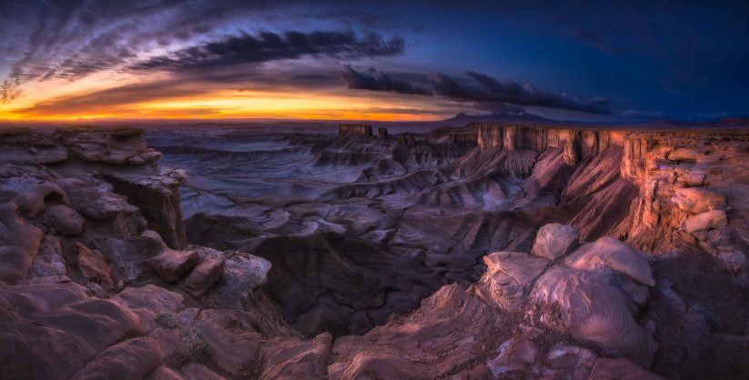 Moonscape Panorama