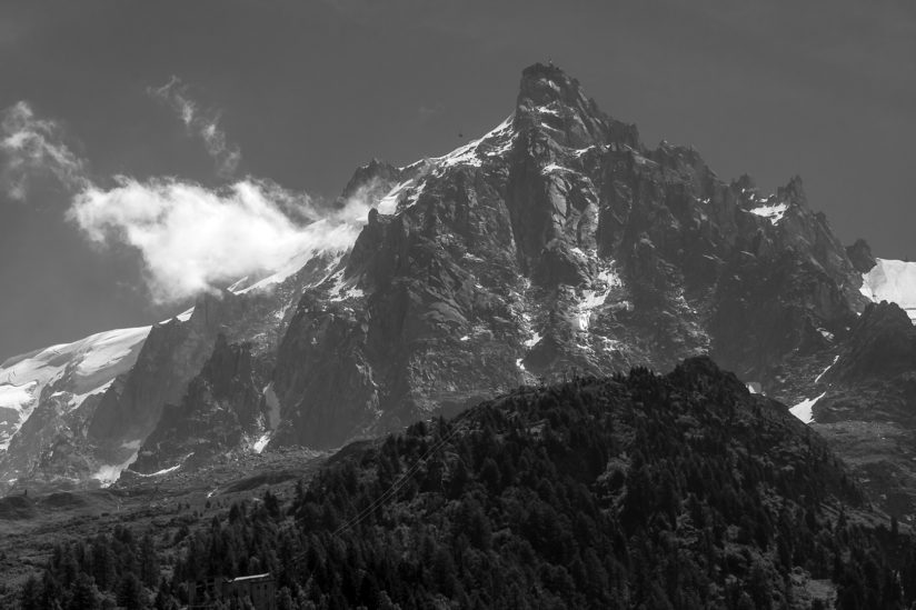 the Cable Car on Mont Blanc