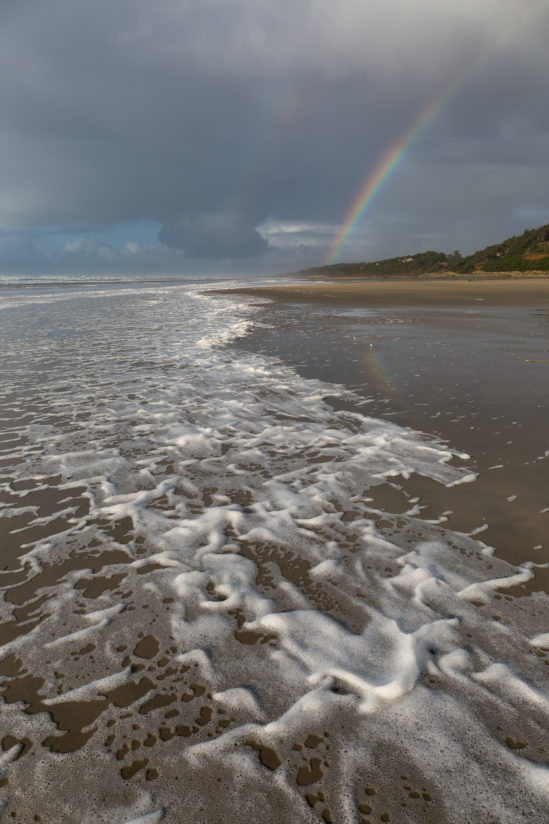 Sea Foam and Rainbow