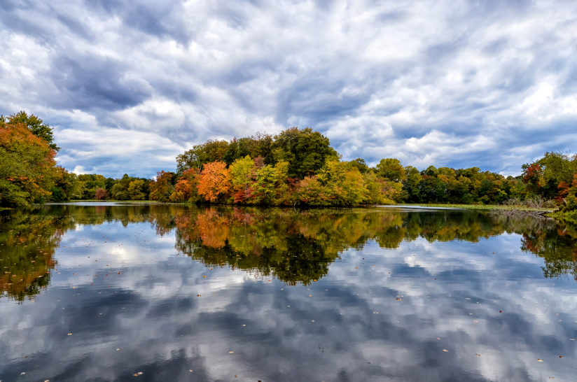 Autumn Reflections Landscape Photo