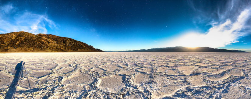 Badwater Basin at Night 4