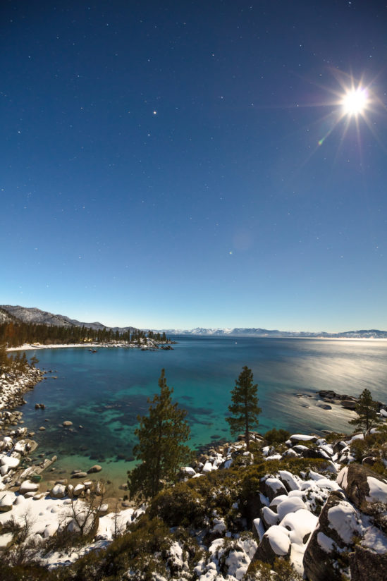 Sand Harbor at Night 1
