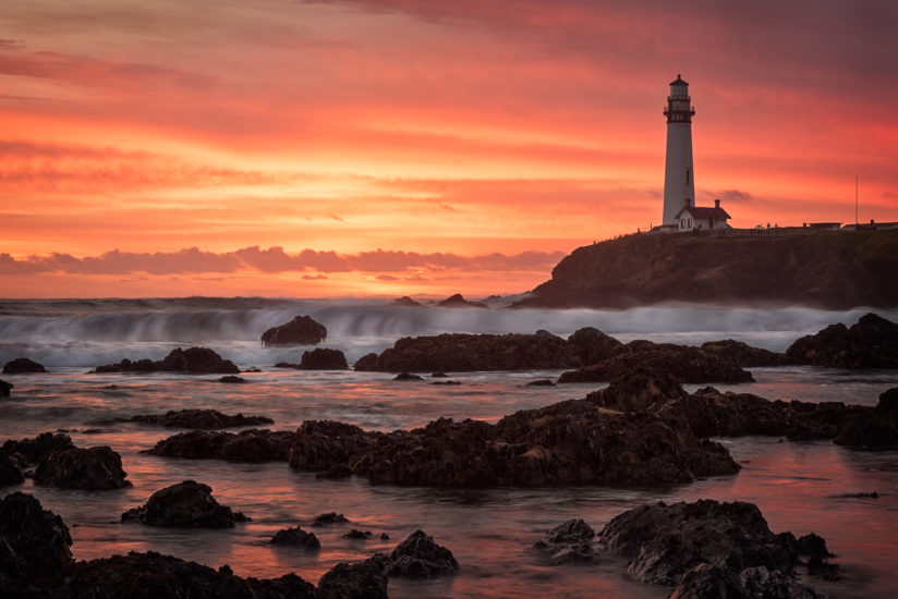 Pigeon Point Sunset