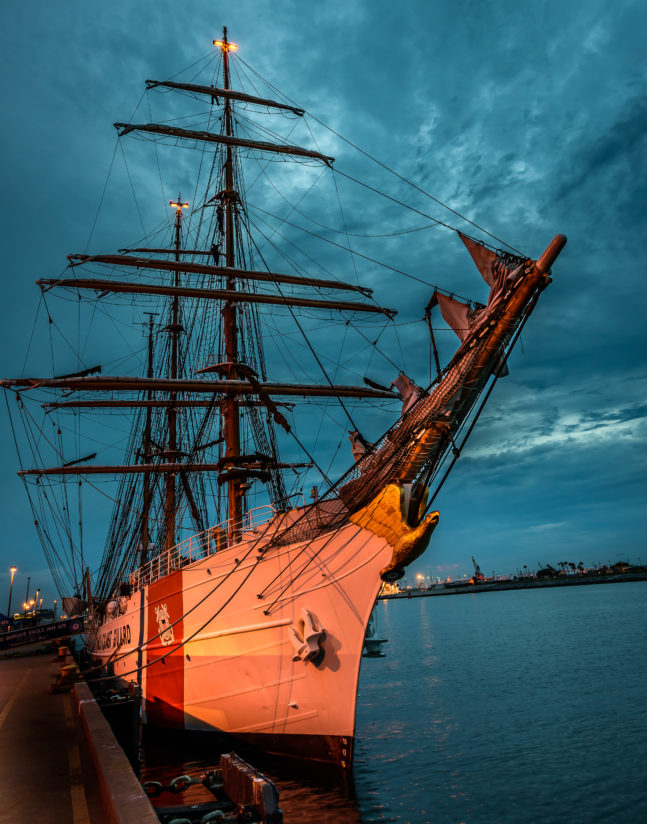 "USCG Tall Ship, ""Eagle"""