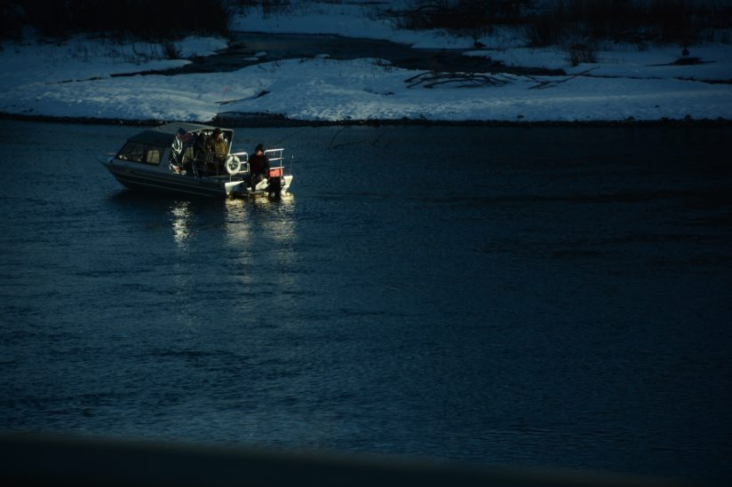Fishing on The Clearwater River.