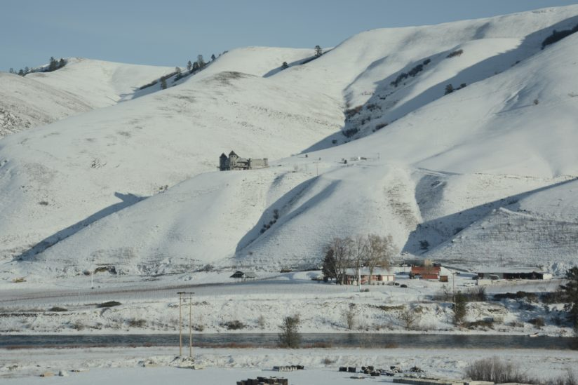Castle over looking the Clearwater river