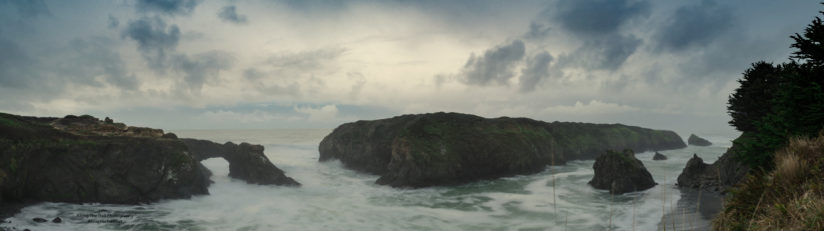 Mendocino Headlands State Park Pano