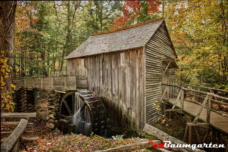 The Old Mill at Cades Cove