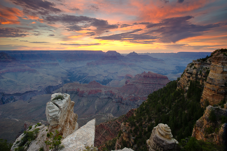 Sunrise Yaki point Grand Canyon