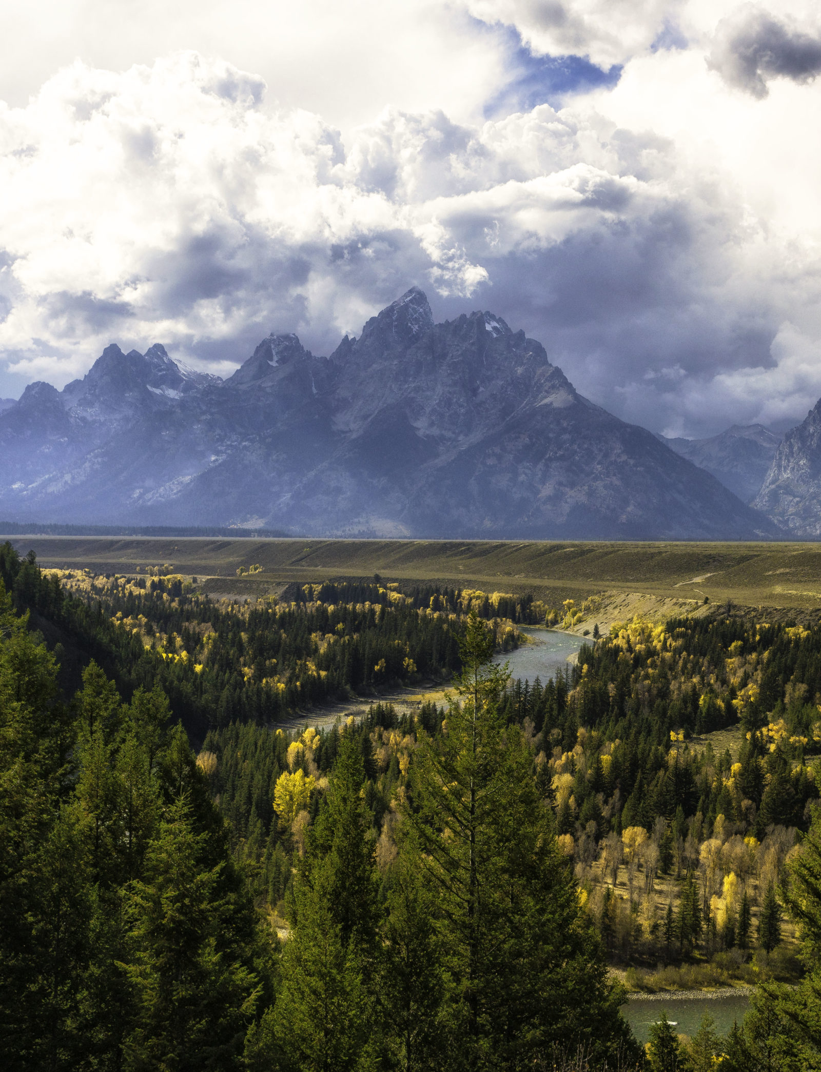 Snake River Overlook in Fall