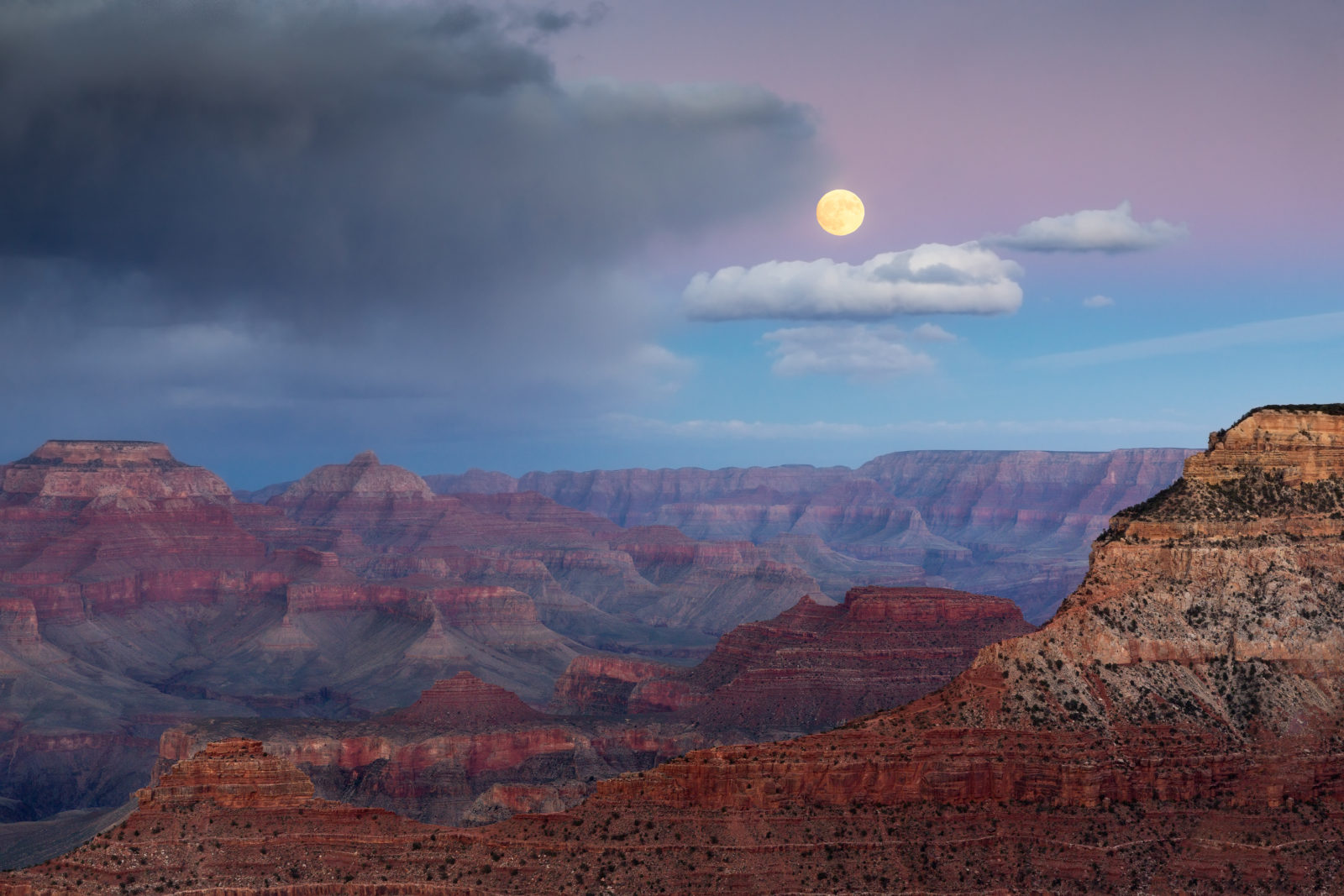 Moons Over My Canyon
