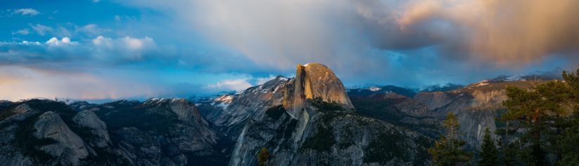 Half Dome Afternoon