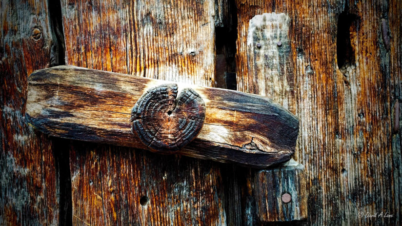Old Wooden Latch