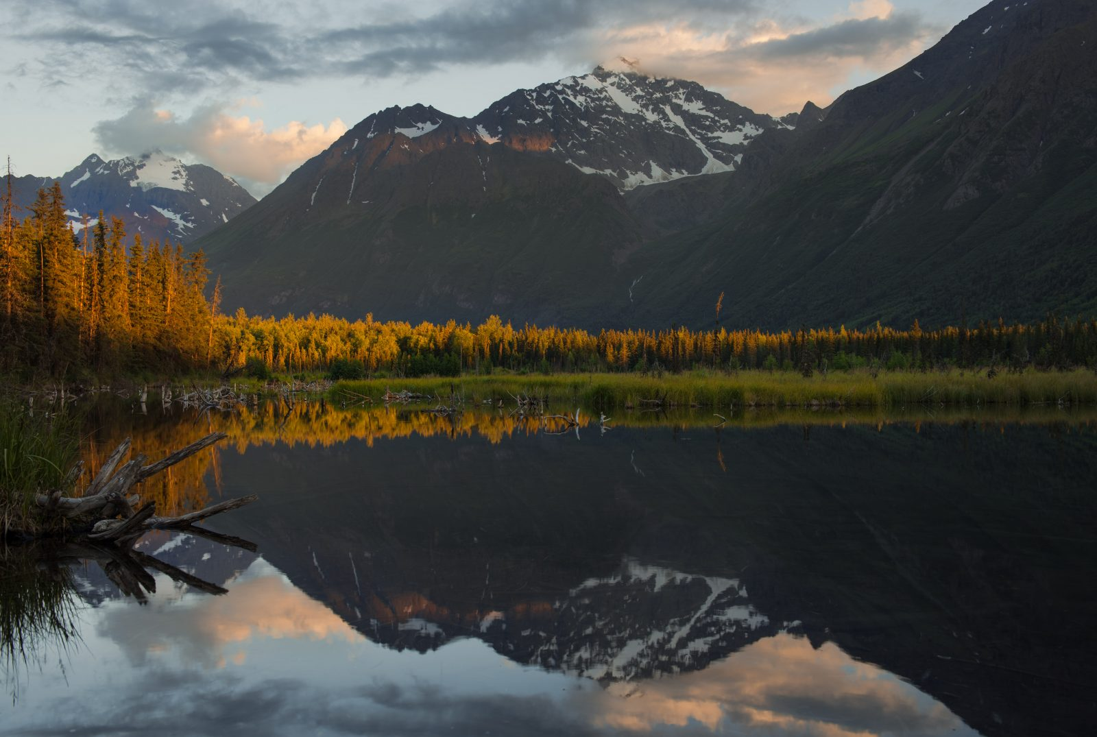 Evening in Eagle River