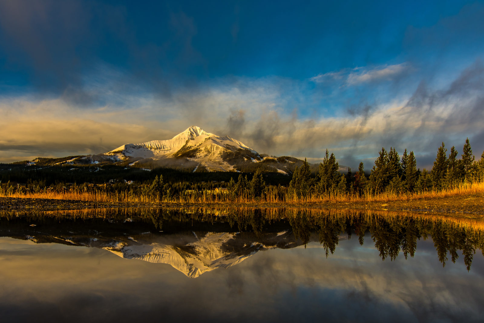 Mountain in a Mud Puddle
