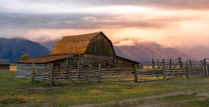 The Most Photographed Barn in the World
