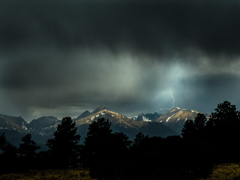 Lightning in the High Country
