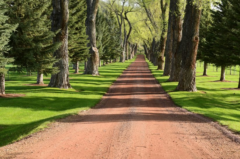 Private Ranch Driveway