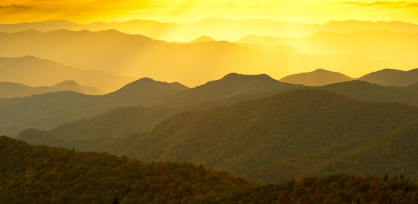 Blue Ridge sunset III