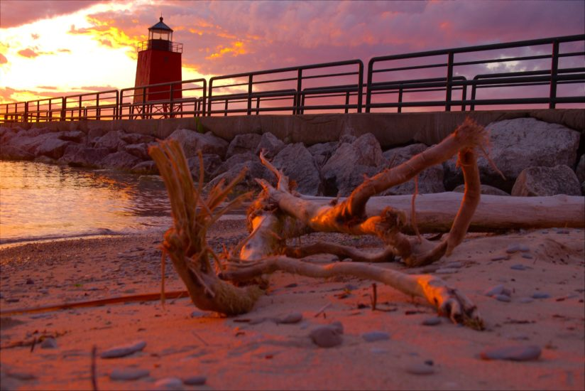 Charlevoix sunset