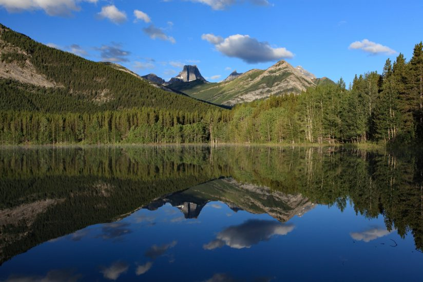 Fortress Mountain Reflection