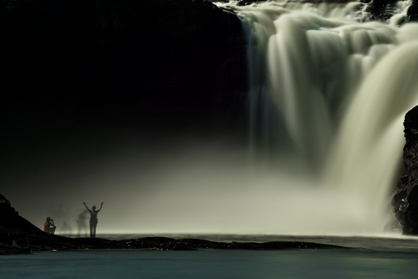 Ghosts in the falls