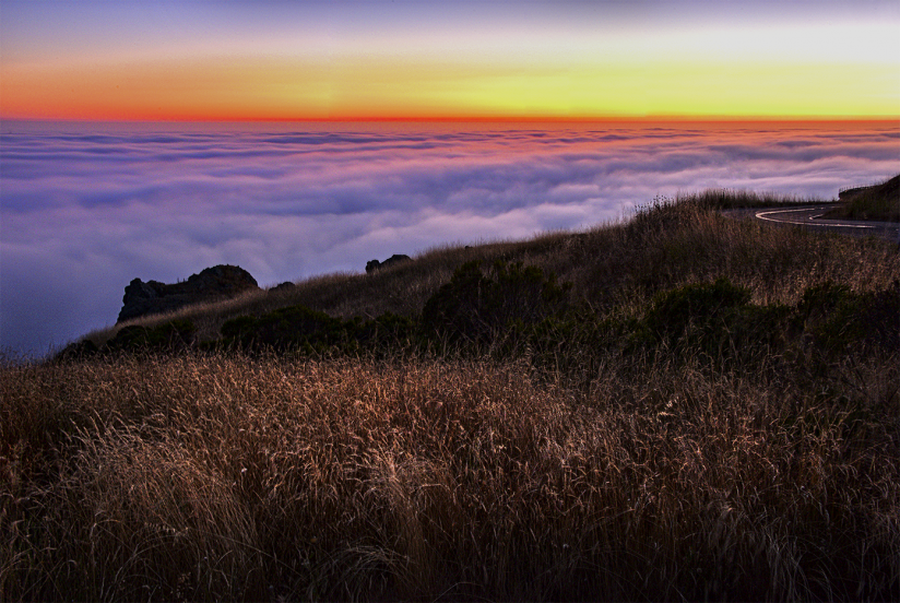 Above the  Clouds on the Pacific Coast Highway