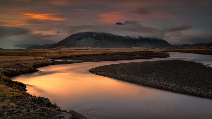 unknown river, eastern iceland