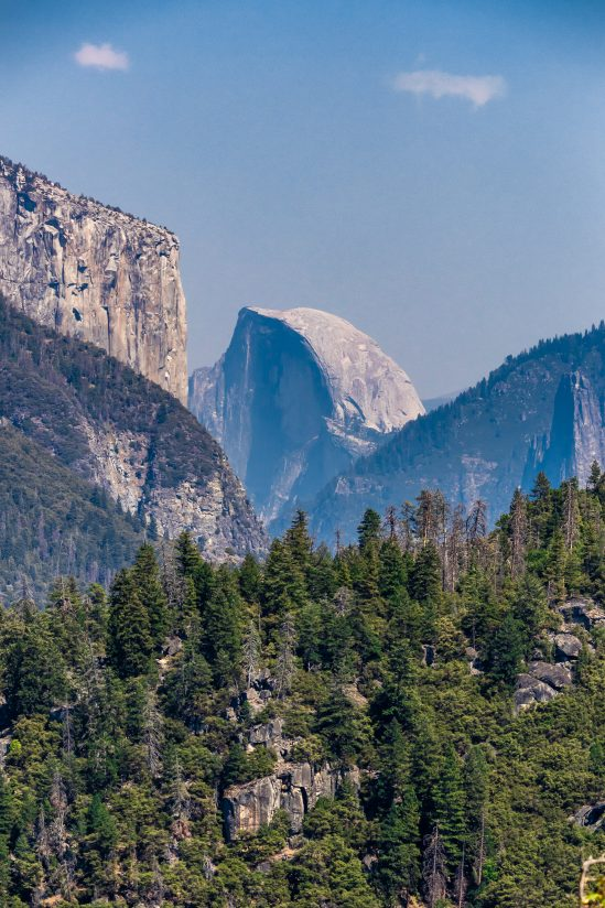 Half Dome & A Pinch of Wildfire Smoke