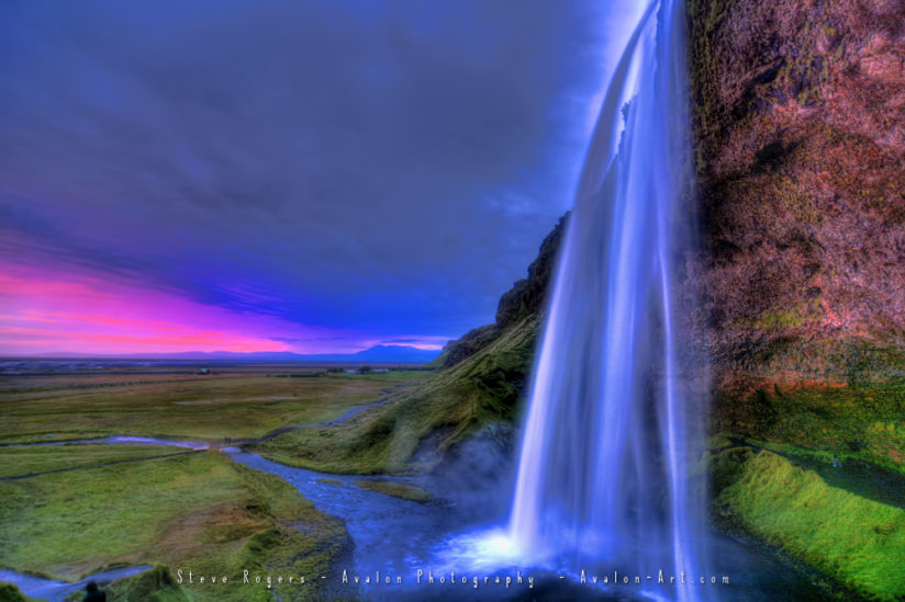 Seljalandsfoss in South Iceland