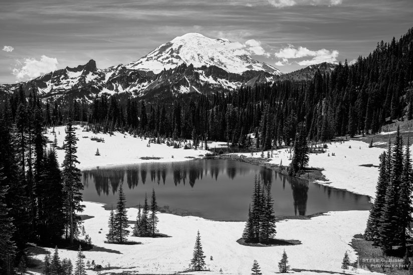Mount Rainier from Tipsoo Lake, Washington, 2019