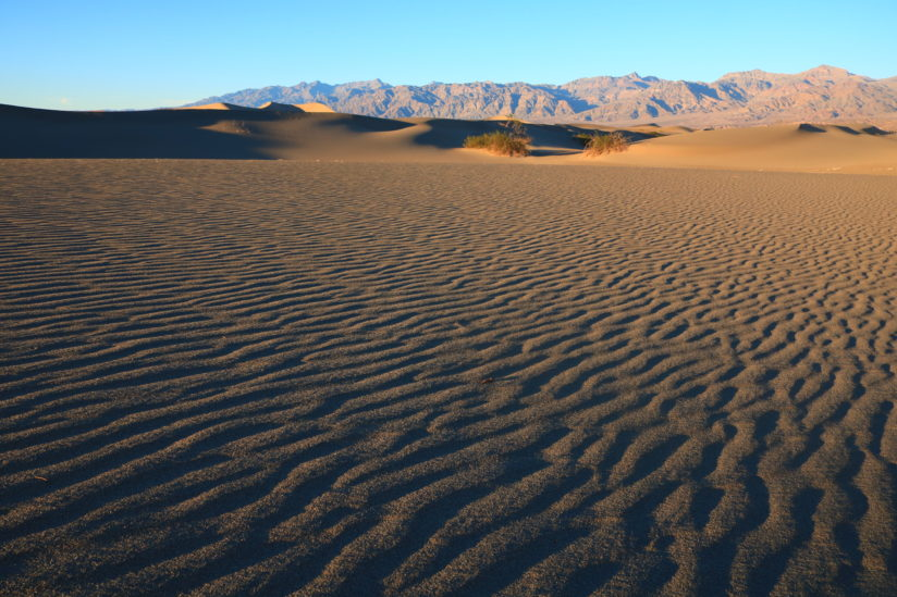 Dunes in Death Valley, Ca
