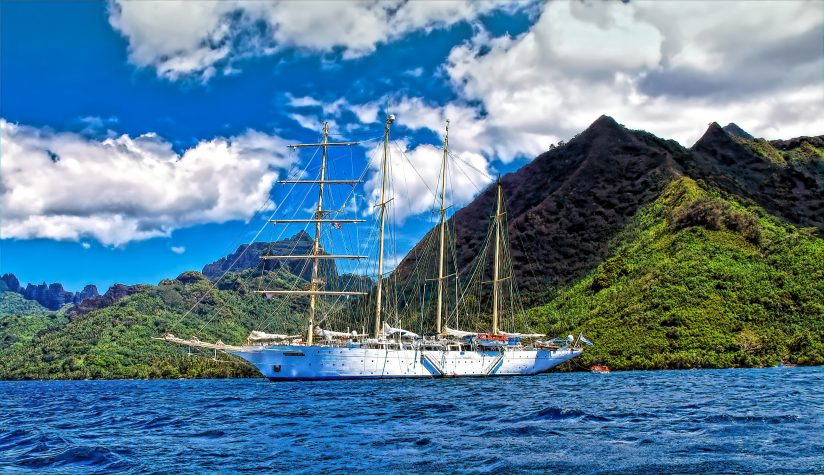 Four Masted Clipper
