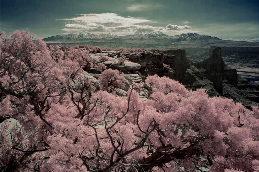 Dead Horse Point in Infrared